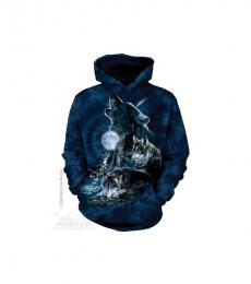 f7426f974502 Wolf Hoodie Bark At The Moon